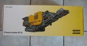 Atlas Copco PC6 ° Brecheranlage ° Powercrusher ° 1:50 ° NEU ° Originalverpackt °