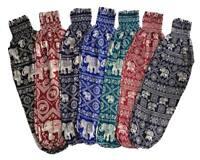 Baggy Harem Pants Elephant Pants One Size, Printed, Yoga, Maternity, Hippie