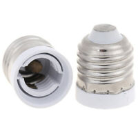 2Pcs E27 to E17 Adapter Lamp Holder Base Socket for E17 LED Light Bulb  YK