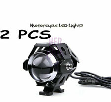 2x Motorcycle U5 Cree LED 15W Fog Spot Light Lamp for CAR/BIKE/ROYAL ENFIELD