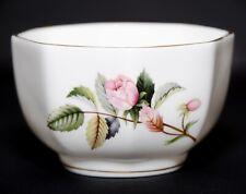 Wedgwood Bone China Hathaway Rose England Trinket Dish Bowl Gold Trim Vintage