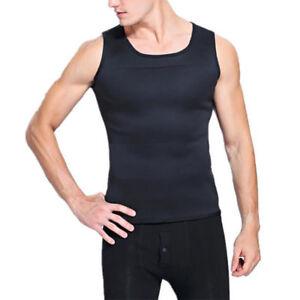 Men Sport Slimming Belly Belt Corset Neoprene Vest Sauna Sweat Shirt Body Shaper