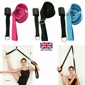 3PC Leg Stretcher Door Flexibility Trainer Leg Strap Ballet Yoga Gymnastic Dance