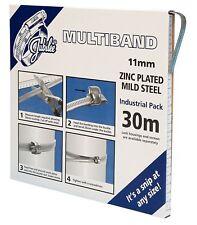 Jubilee ® Multibanda Acero Suave 11 mm 30 M Pack Clip Pinza