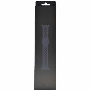 44mm Original Apple Watch Band Nike Sports Silicone Anthracite/Black MX8E2AM/A