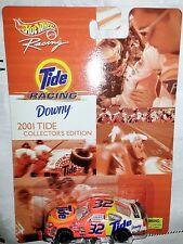 NEW HOT WHEELS TOY RACING TIDE Race Nascar 2001 Ford  Scott Pruitt  #32 Car 1-64