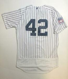"MARIANO RIVERA Autographed ""HOF 2019"" Authentic Jersey STEINER LE 42"