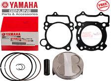 YAMAHA 2008-2009 YZ250F Top End Piston Kit Ring Set Head Gasket 5XC-11631-00-00