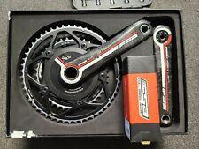 FSA K-Force Light Hollow Carbon Road Bike Crankset 175mm Wireless Powermeter SRM
