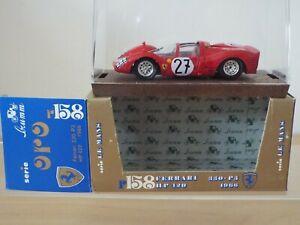 1/43 Scale Brumm Oro Diecast R158 FERRARI 330-P3, Le Mans 1966, NEW but opened