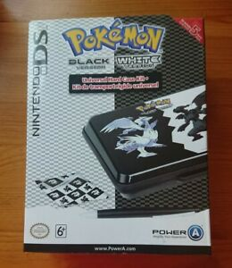 Brand New Sealed Pokemon Black & White Nintendo DS Case Bundle PAL