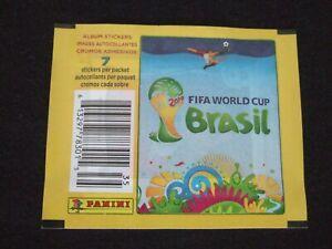 panini world cup 2014 brazil 1 packet pack tute bustina USA version