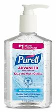4 Pack - Purell Instant Hand Sanitizer, 8 Ounce Each