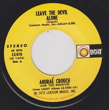 ANDRAE CROUCH {70s Soul Gospel} Leave The Devil Alone / I Don't Know Why ♫HEAR