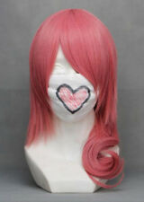 Wig rose with half tail cheval 65cm, cosplay serah farron