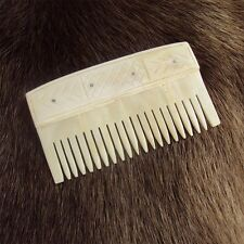 Genuine Cow Bone Comb - Viking Re-Enactment / LARP
