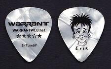 Warrant Erik Turner Caricature White Pearl Tour Guitar Pick