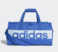 Adidas Linear Performance Duffel Bag Training gym Sport Travel Small Bag - Blue