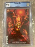 Batman Who Laughs #6 Jenny Frison Variant Cover DC  9.8 CGC NM/MT Fast Shipping!