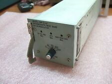 Microdyne Intermediate / Wide Band FM Demodulator Model 1144-D(A)