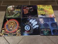 Lot of 40 Reggae Dancehall Compilation Vinyl Album LP Collection Buju, Beenie #1