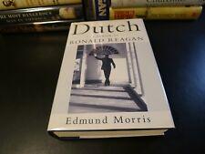 DUTCH A Memoir Ronald Reagan, Edmund Morris 1999 SIGNED 1st ed., HC/DJ Biography