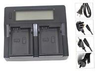 New Dual LCD Battery Charger For EN-EL15 1 V1 D600 D610 D7000 D800E D7500 ENEL15