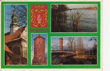 Carte poste OLD POSTCARD POLOGNE POLAND POLSKA BRODNICA écrite 1994