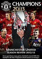 CHAMPIONS - Manchester United Season Review 2012 - 2013 New Sealed Region 2 DVD