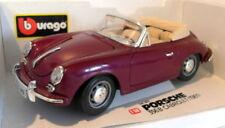Voitures de tourisme miniatures rouge pour Porsche