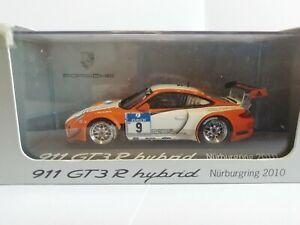 MINICHAMPS PORSCHE 911 GT3R HYBRID NURBURGRING 2010 S.1/43