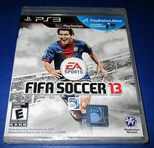 FIFA Soccer 13 Sony PlayStation 3 - PS3 - *Factory Sealed! *Free Shipping!