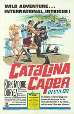 DEEP SEA SCUBA DIVING One Sheet CATALINA ISLAND CAPER original 1967 movie poster