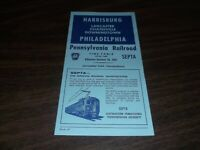 OCTOBER 1967 PRR PENNSYLVANIA RAILROAD FORM 41 PHL-HAR  PUBLIC TIMETABLE