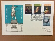 1973 Paintings FDC Royal Academy Official Cover