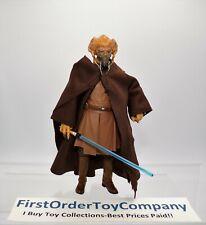 """Star Wars Black Series 6"""" Inch Plo Koon Loose Figure COMPLETE"""