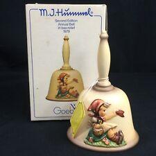 Vintage Goebel M.J. Hummel 1979 2nd Edition Annual Bell