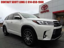2017 Toyota Highlander Certified 2017 Highlander All Wheel Drive White SE