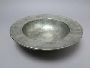 Etain Pewter Zinn Schale ca. 1,8 kg x ca 33,2 cm Ø