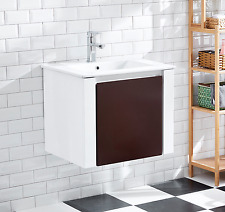 Bathroom Ceramic Cabinet single basin single drawer board painting gloss AR1005