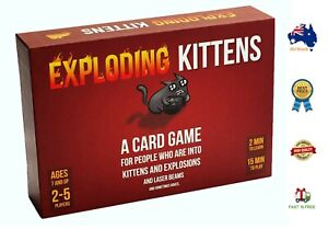 🔥BRAND NEW-Exploding Kittens Original Card Game -AUS STOCK,FREE SHIPPING🔥