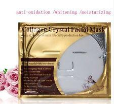 10x Premium White Collagen Pilaten Face Eye Pearl AntiWrinkle Mask Pads Gel Lot