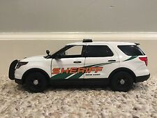 Greene County Tennessee custom sheriff's diecast car Motormax 1:24 scale SUV