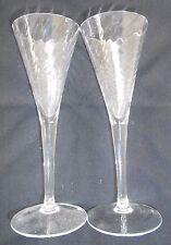 Spiral Pattern Sherry Glass x 2