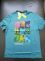 authentic, brand new,Versace jeans t-shirt, M modern print,