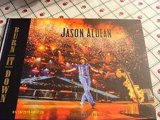 Jason Aldean Burn It Down 2015 Hardcover Photo Book & ACM Voter Request