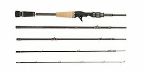 Abu Garcia WORLD MONSTER WMC-705L Light 7' Fishing Baitcasting Rod Pole NEW