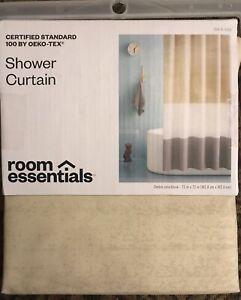 "Room Essentials Colorblock Shower Curtain 72"" x 72"""