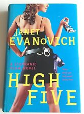 High Five by Janet Evanovich First Edition Signed by Author