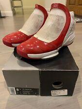 Air Jordan XIX 19 Mid West White/Varsity Red Sz 8.5 100% Authentic